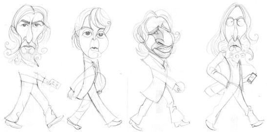 boceto beatles